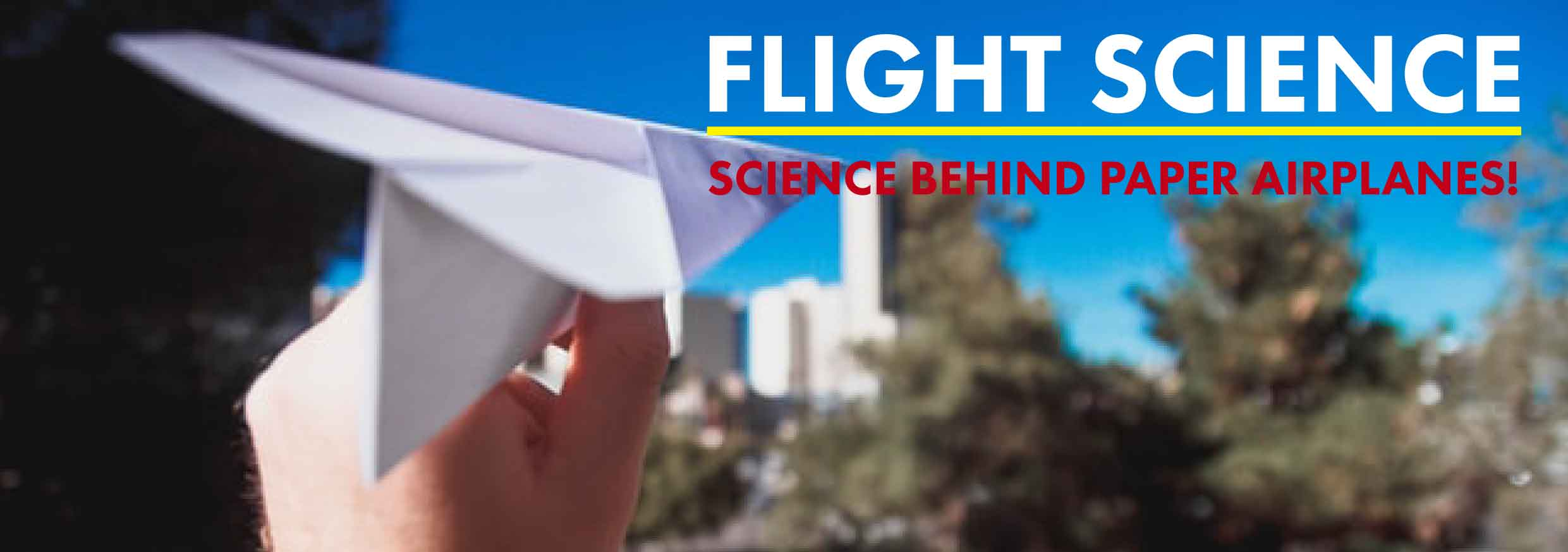 Science behind paper airplanes | Paper plane science experiment